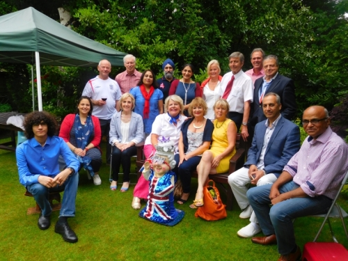 South Swakeleys Neighbourhood Watch Queen's birthday celebration