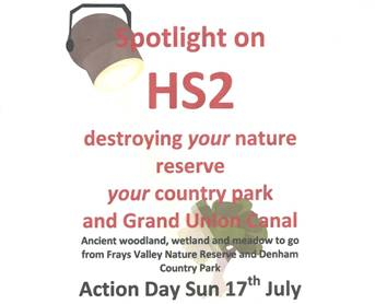 Spotlight on HS2 destruction