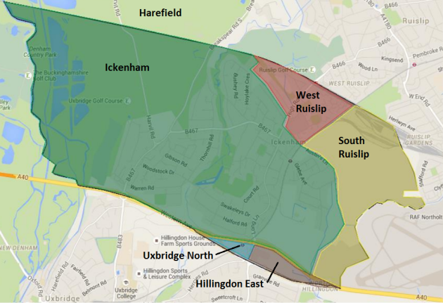 Ickenham Wards